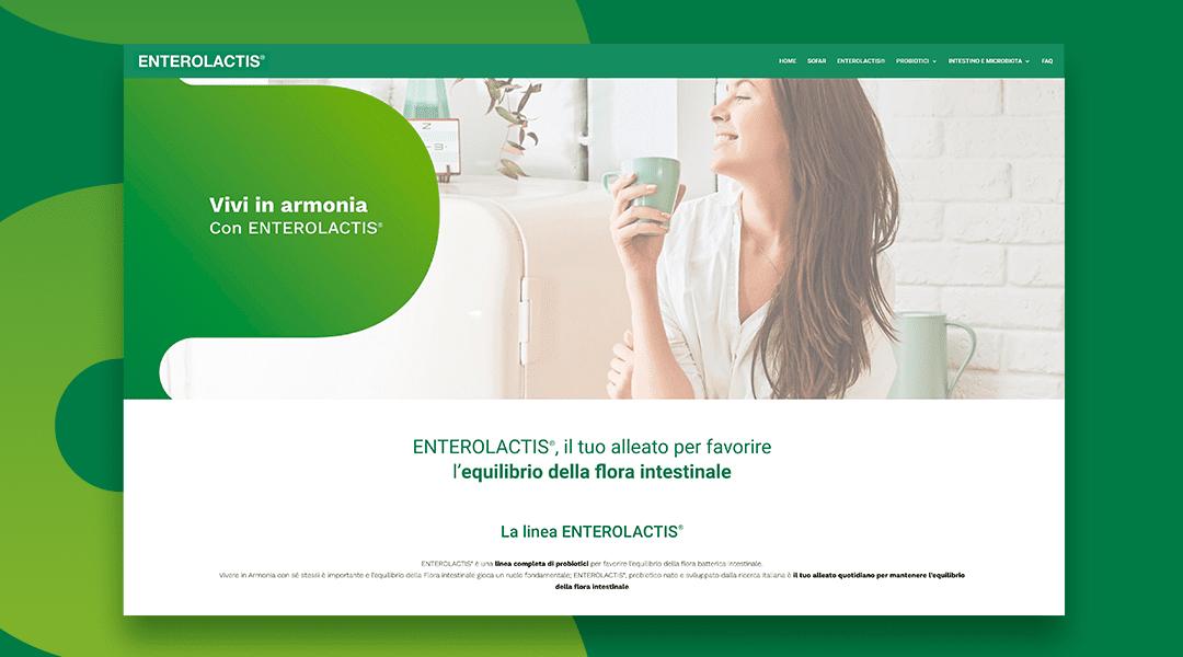 Vivere in armonia: il nuovo sito web di ENTEROLACTIS®