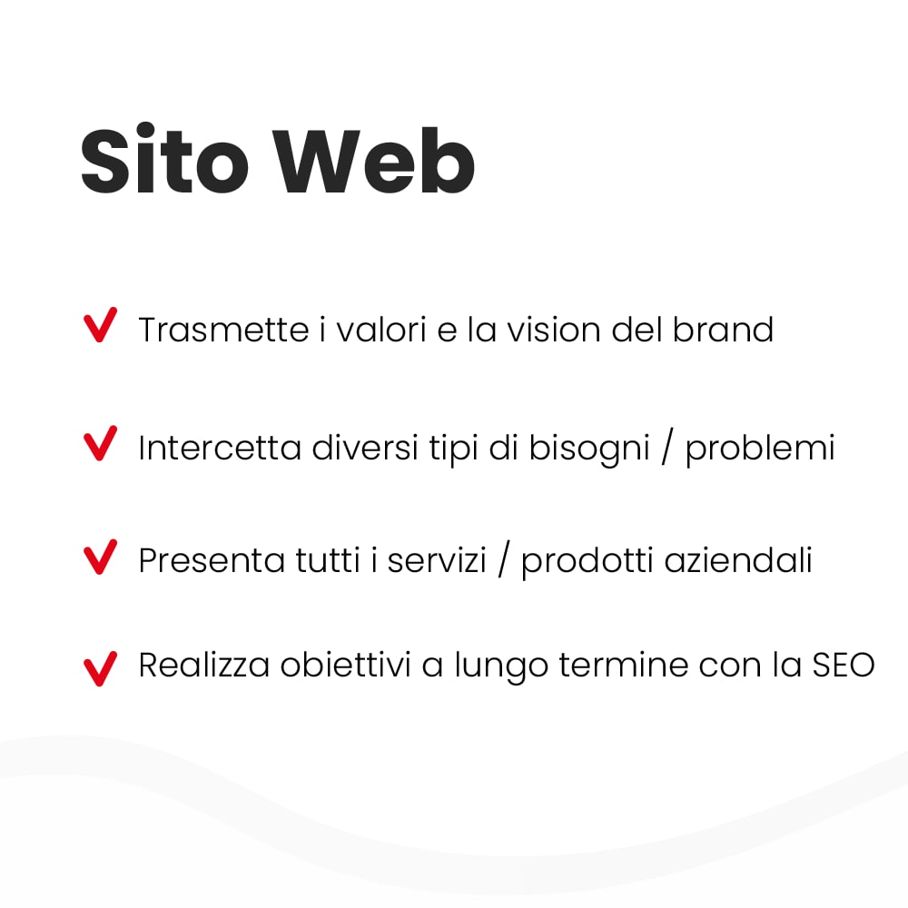 Differenze sito web e landing page - parte 1
