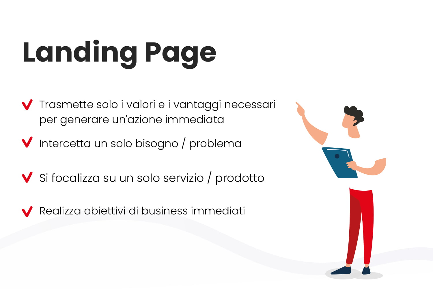 Differenze sito web e landing page - parte 2