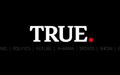 Brand identity e web design per True News, la verità come non l'hanno mai raccontata